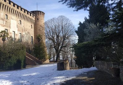 Il Castello in inverno
