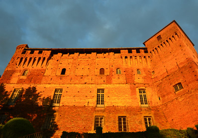 Il Castello all'alba