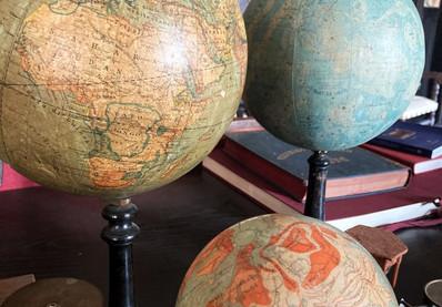I mappamondi della biblioteca