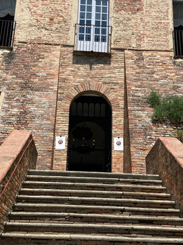 La mostra al Castello