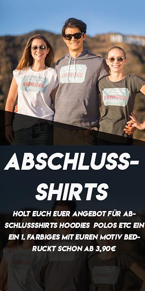 Abschluss Shirts, Zeitungen, ABI, Textilien