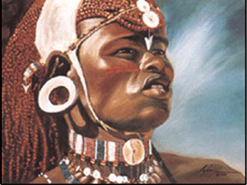 "60 ""Samburu Warrior"" -"