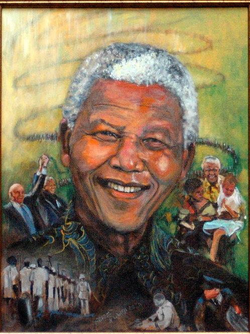 """178 - """"Mandela"""" - SOLD"""