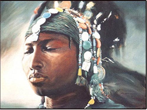 """68 """"Fulani Woman #2"""""""