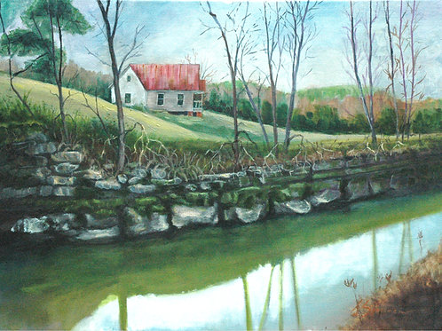 "167 ""Early Spring on the Creek"""