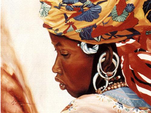 """51 """"Fulani Woman #1"""""""