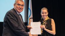IOK och idrottsnutrition - diplom till Josefine!
