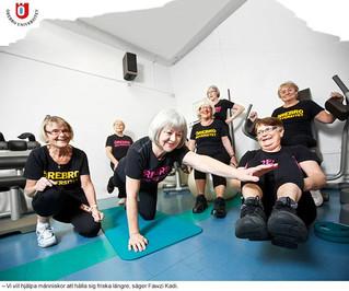 Bättre hälsa med kost och träning hos äldre