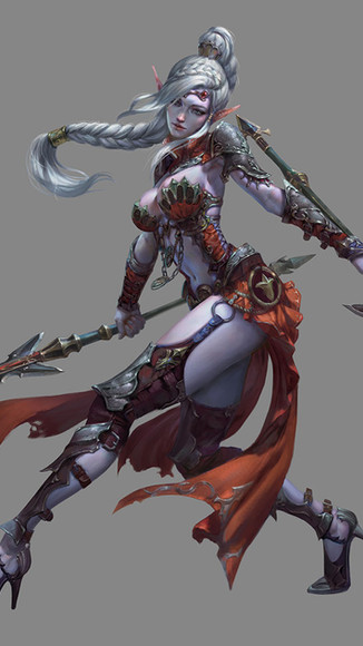 DarkElf Knight XR Female