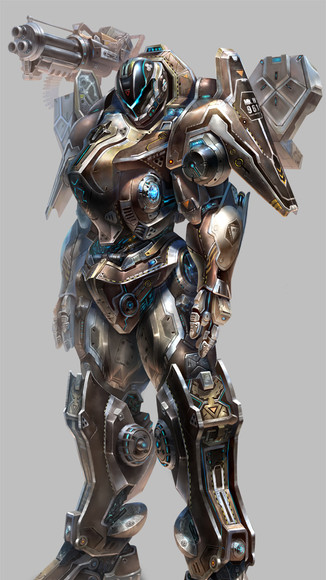 heavy armor M
