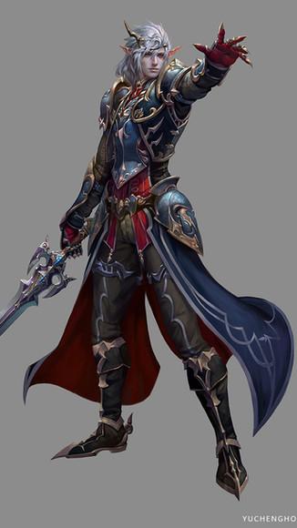 Chaos DarkElf Dark Warrior Master Male