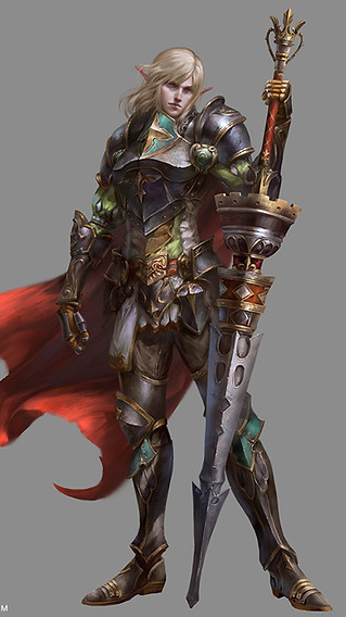 Elf Knight XR Male
