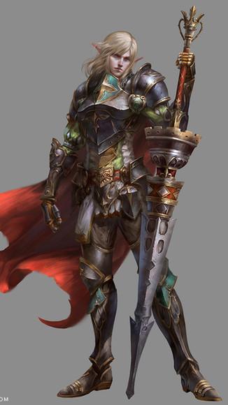 Elf Knight XR Male