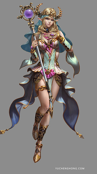 Order Elf Fortune Teller Master Female