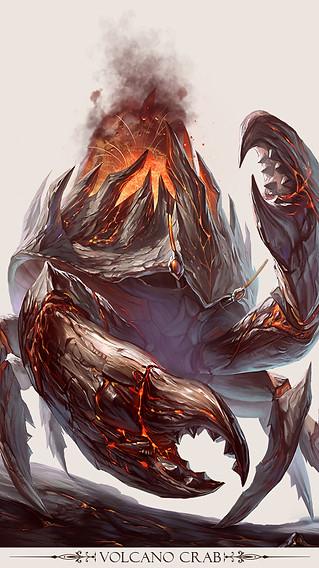 volcano crab