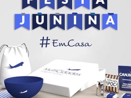 Incentive seus Colaboradores | Kit Festa Junina #EmCasa