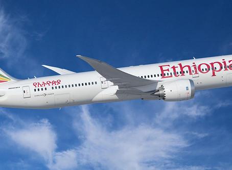 Ethiopian Airlines | Retomada de voos para Diversos Destinos