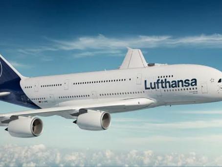 Lufthansa passa a disponibilizar testes rápidos de COVID19