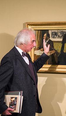 Александр Майкапар рассказывает о картинах на выставке в ГМИИ им. Пушкина