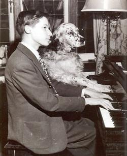 Глен Гульд за пианино