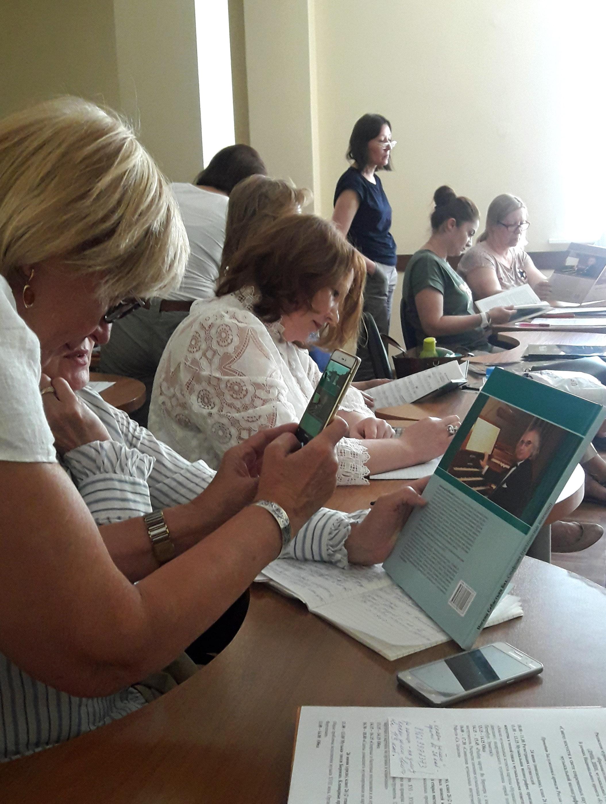 Слушатели семинара А. Майкапара