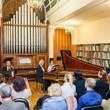 А. Майкапар в органном зале