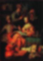 Рембрандт. Музицирующее общество. 1626