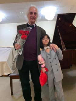 А. Майкапар с ученицей