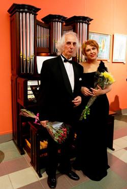 Александр Майкапар и Елена Лопухина