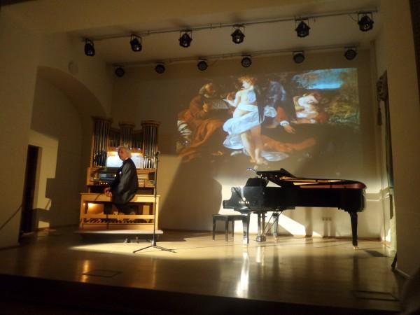 А. Майкапар на сцене Башмет-Центра