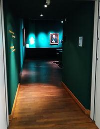 Портретная комната архива И.С. Баха в Лейпциге.