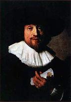 Рембрандт. Портрет музыканта (Генрих Шютц?) 1633.