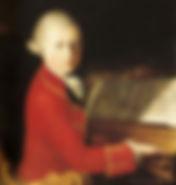 Саверио делла Роза. Портрет Моцарта