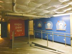 Expo Paw Spa mural by Tamara Hergert 7