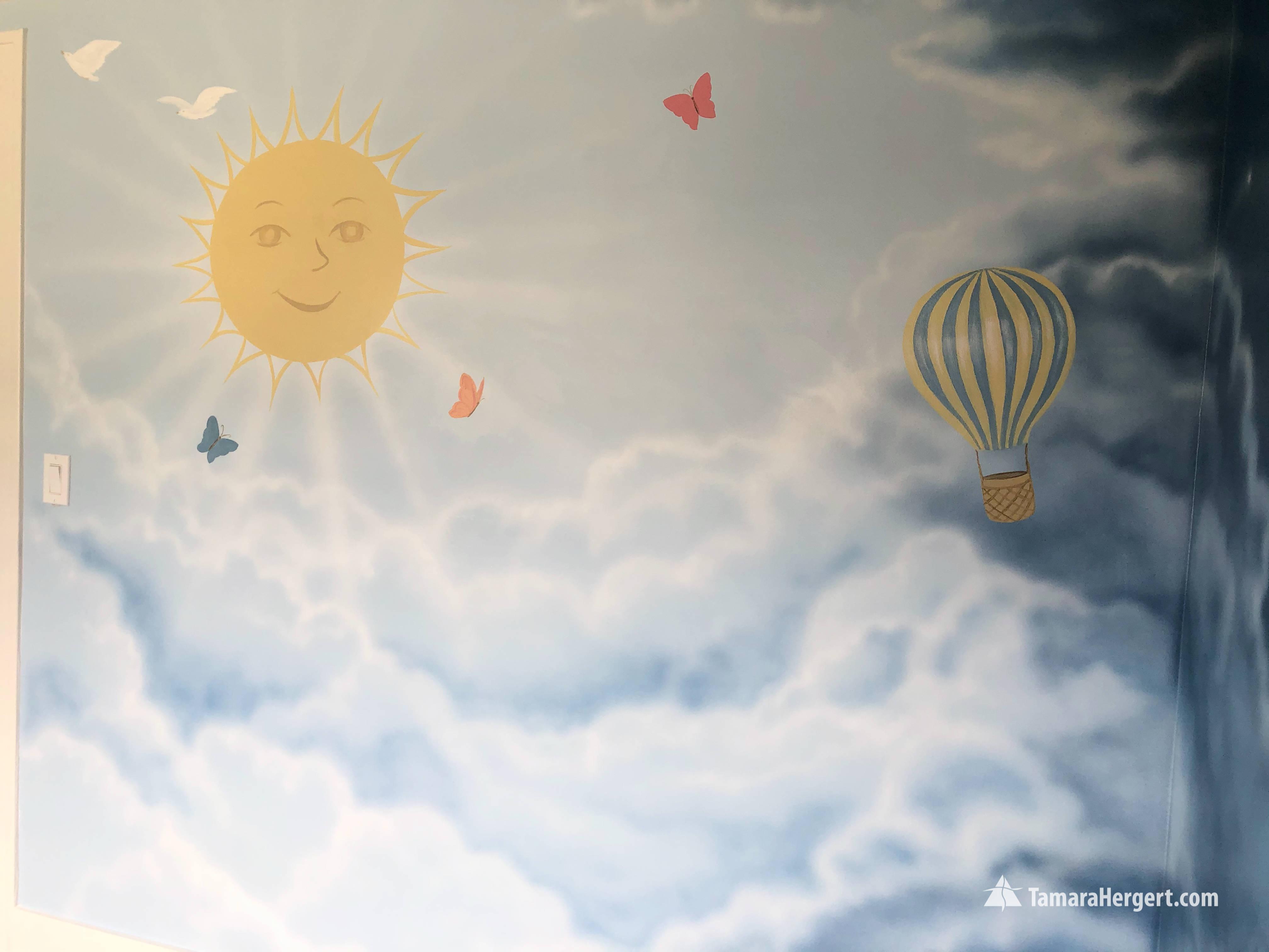 Night and Day mural by Tamara Hergert 17