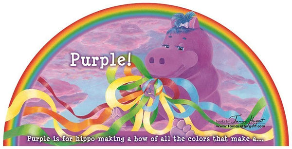 Rainbow Colors book by Tamara Hergert -