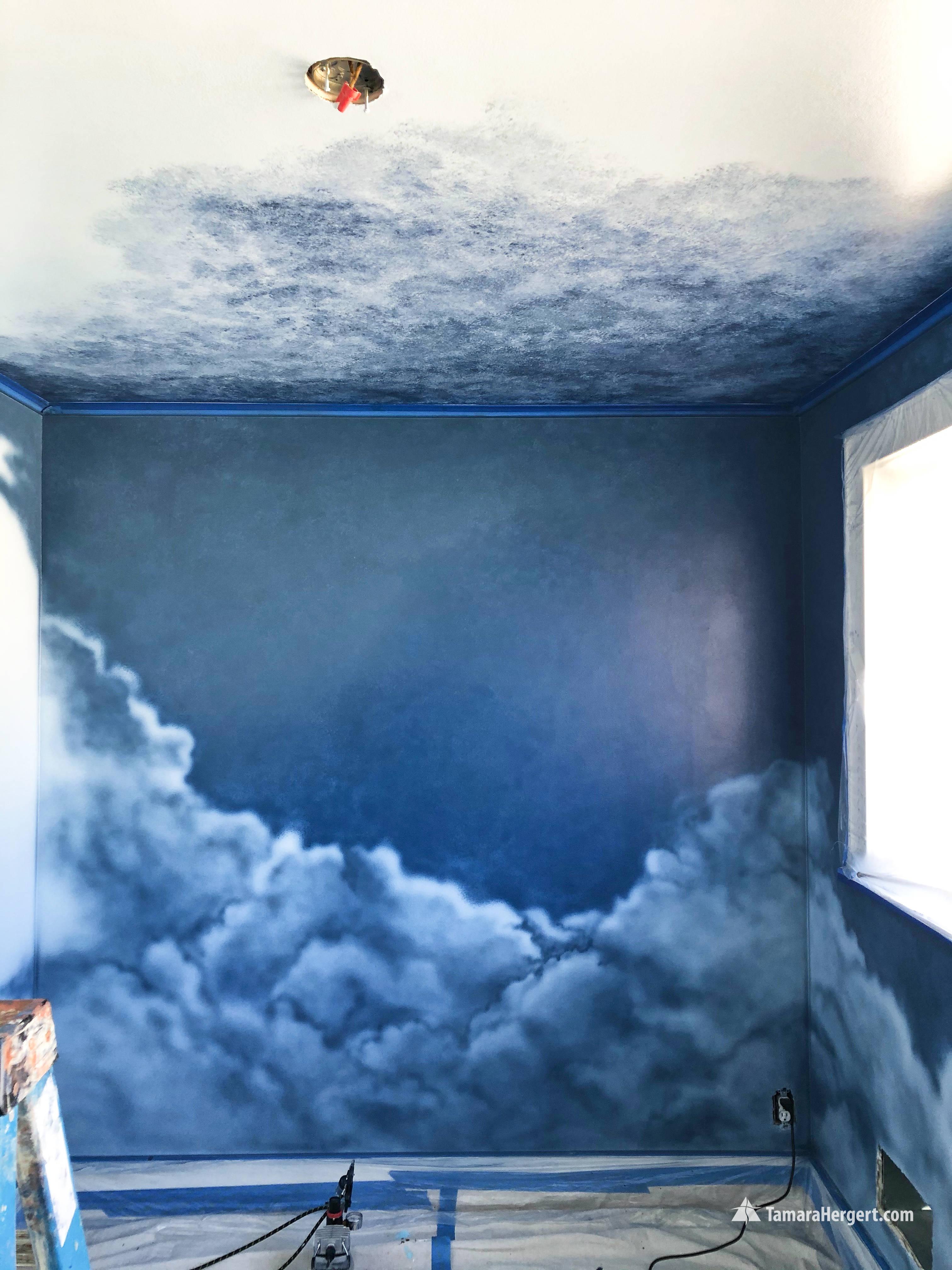Night and Day mural by Tamara Hergert 4.