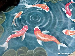 Koi pond mural by Tamara Hergert 4.jpg