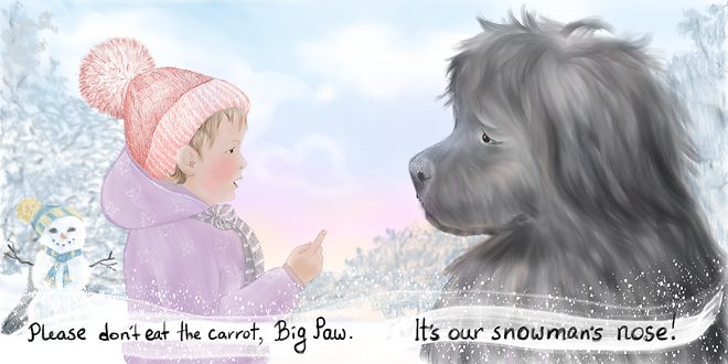 Big Paw illustration by Tamara Hergert 6