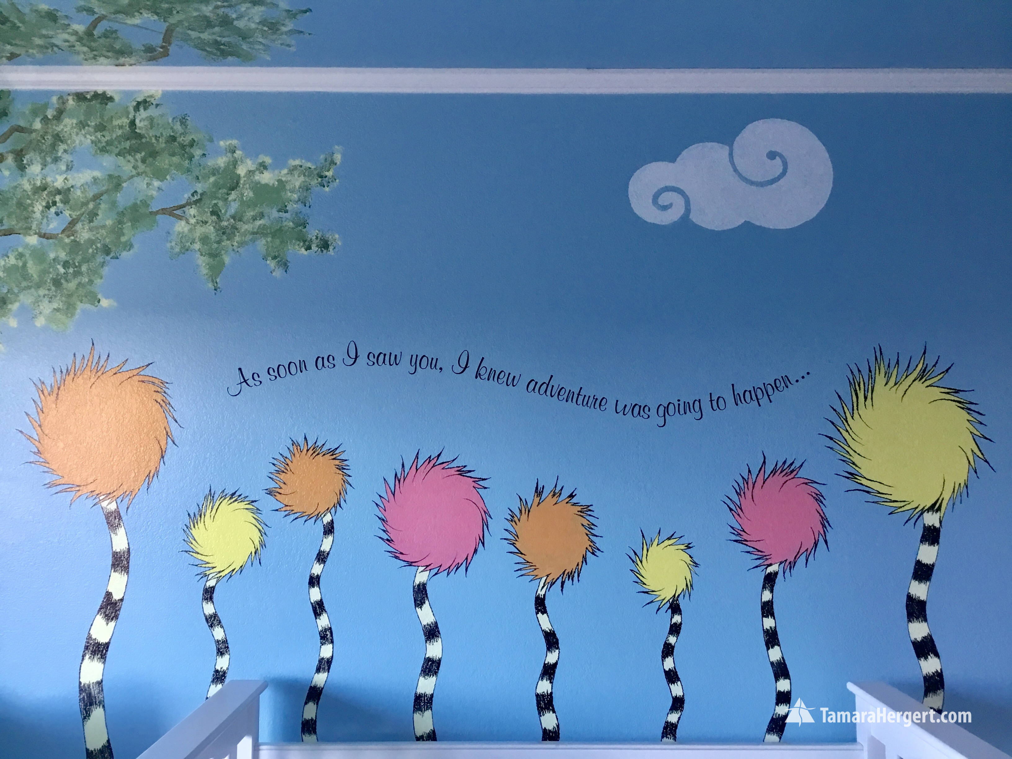 Story book mural by Tamara Hergert 29