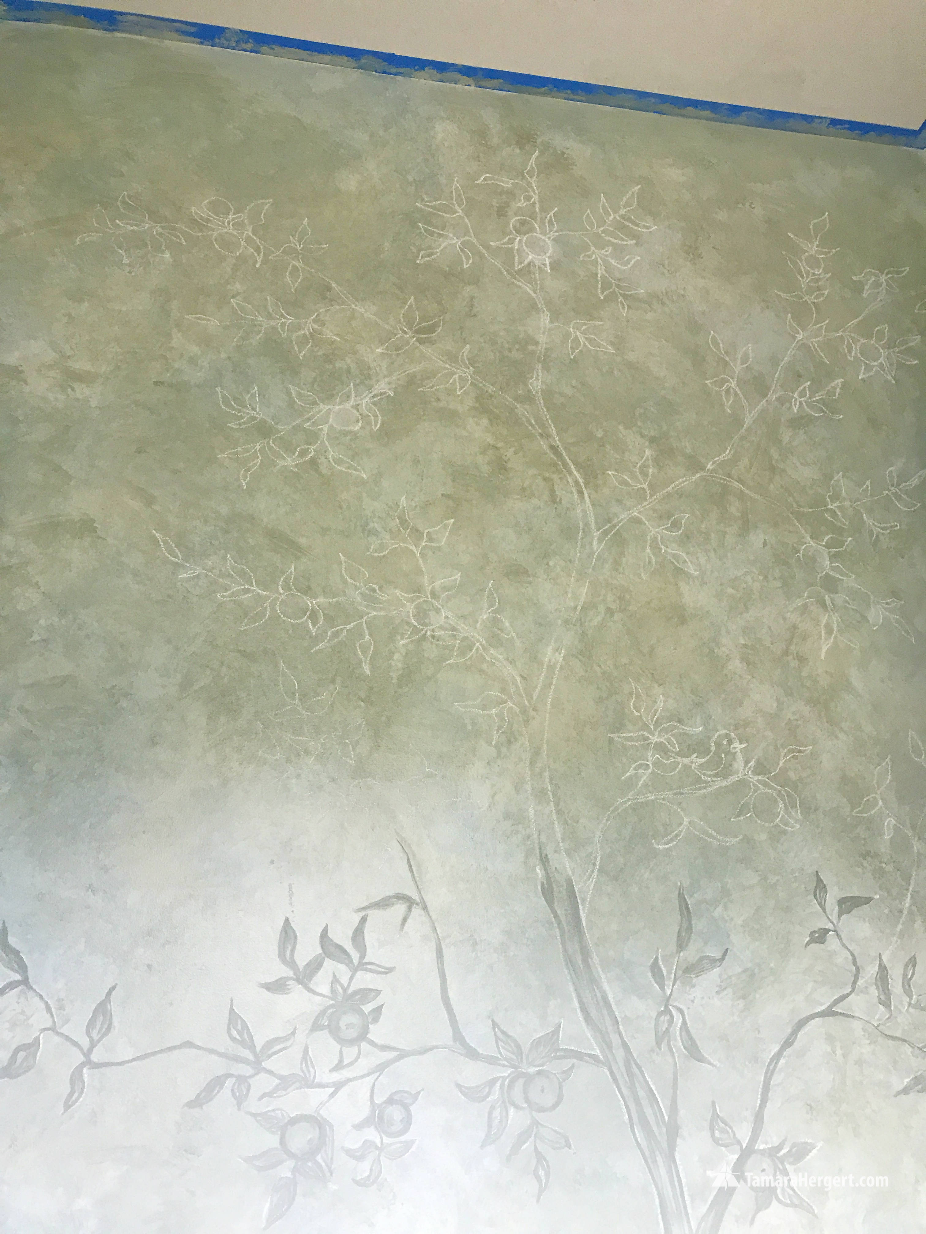 Work in progress - Subtle tones apple tr