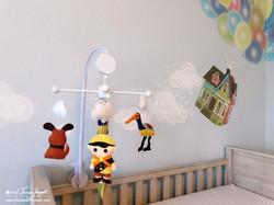 Up Pixar movie mural by Tamara Hergert - detail1