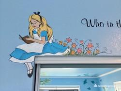 Story book mural by Tamara Hergert 27