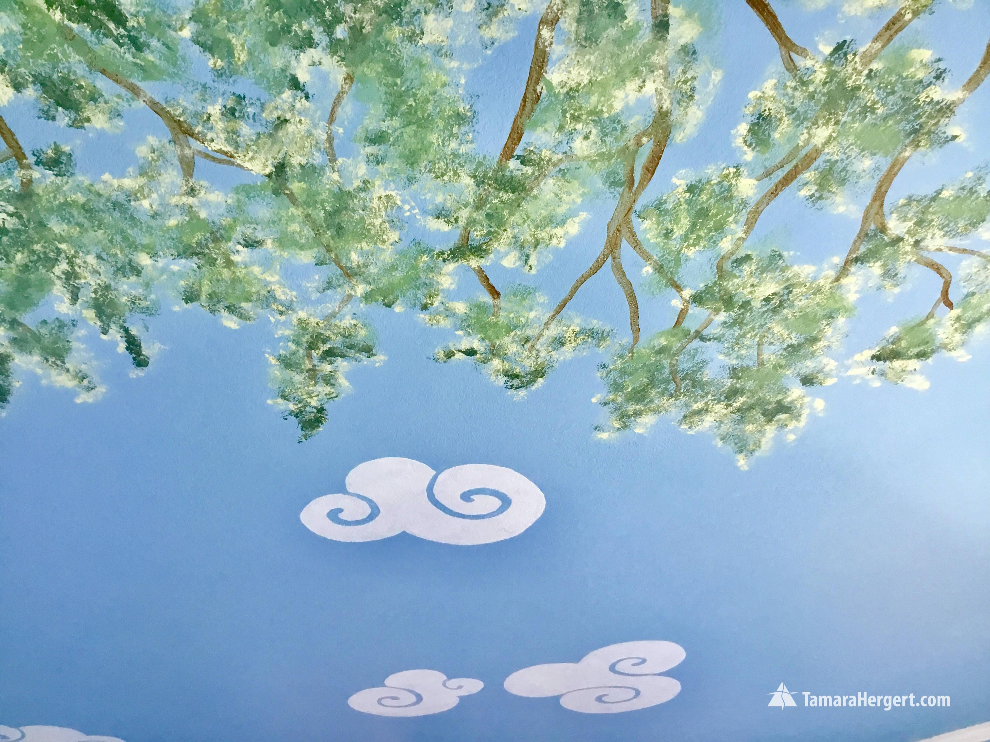 Story book mural by Tamara Hergert 14