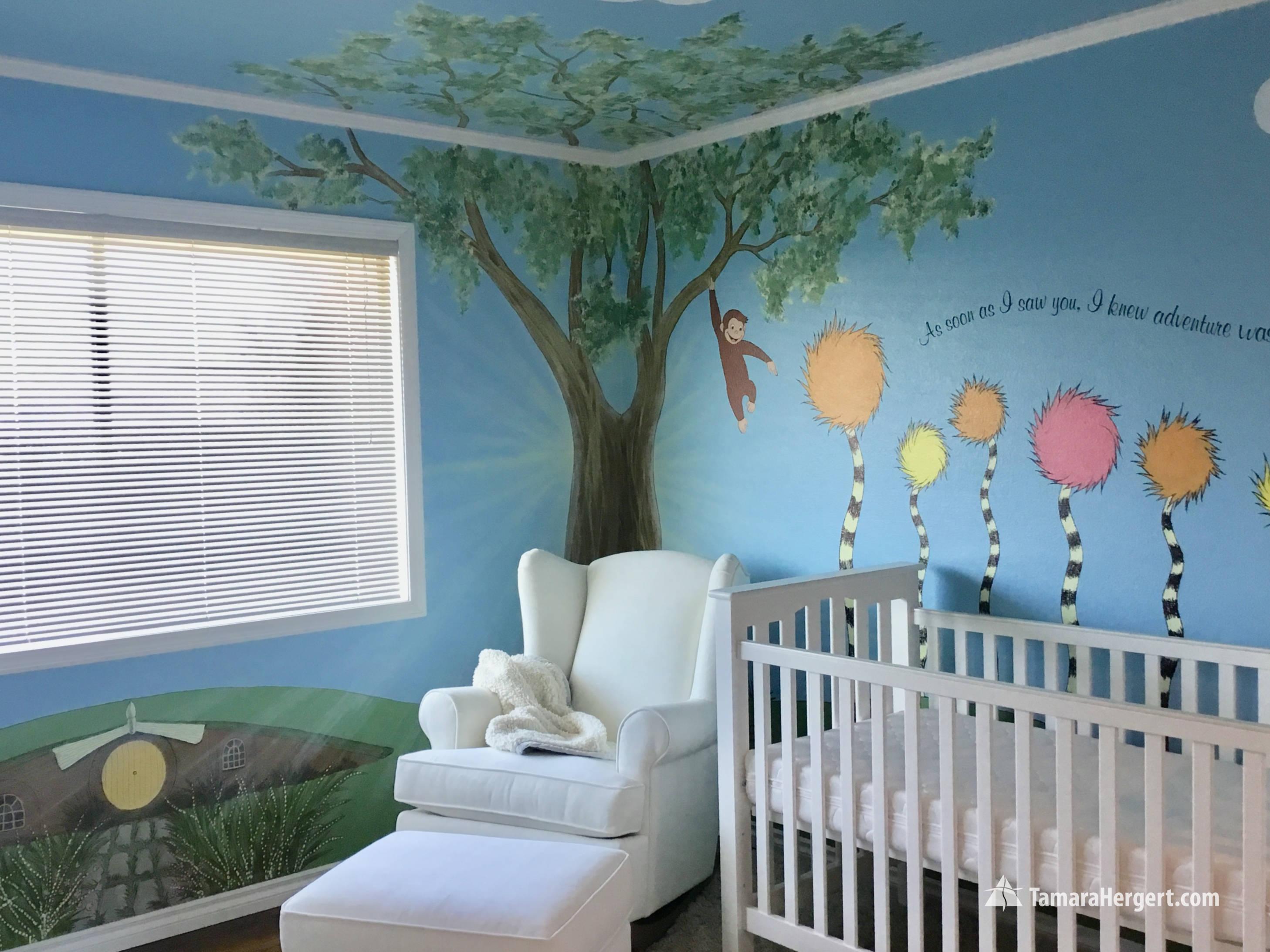 Story book mural by Tamara Hergert 31