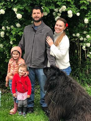 Tamara Hergert and family photo