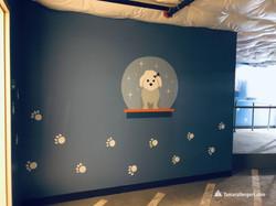 Expo Paw Spa mural by Tamara Hergert 3