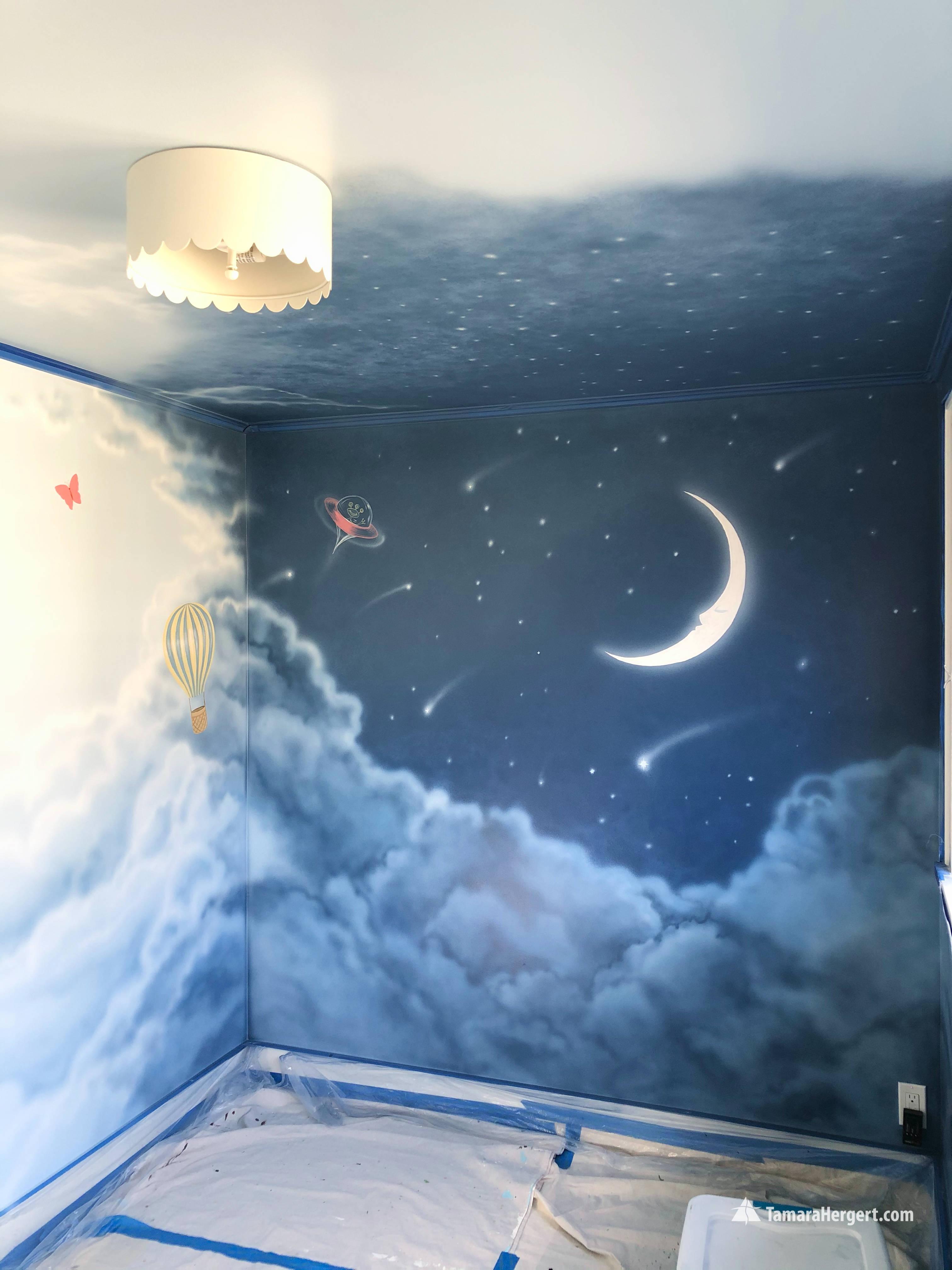 Night and Day mural by Tamara Hergert 11