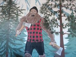 Axekickers mural by Tamara Hergert 3
