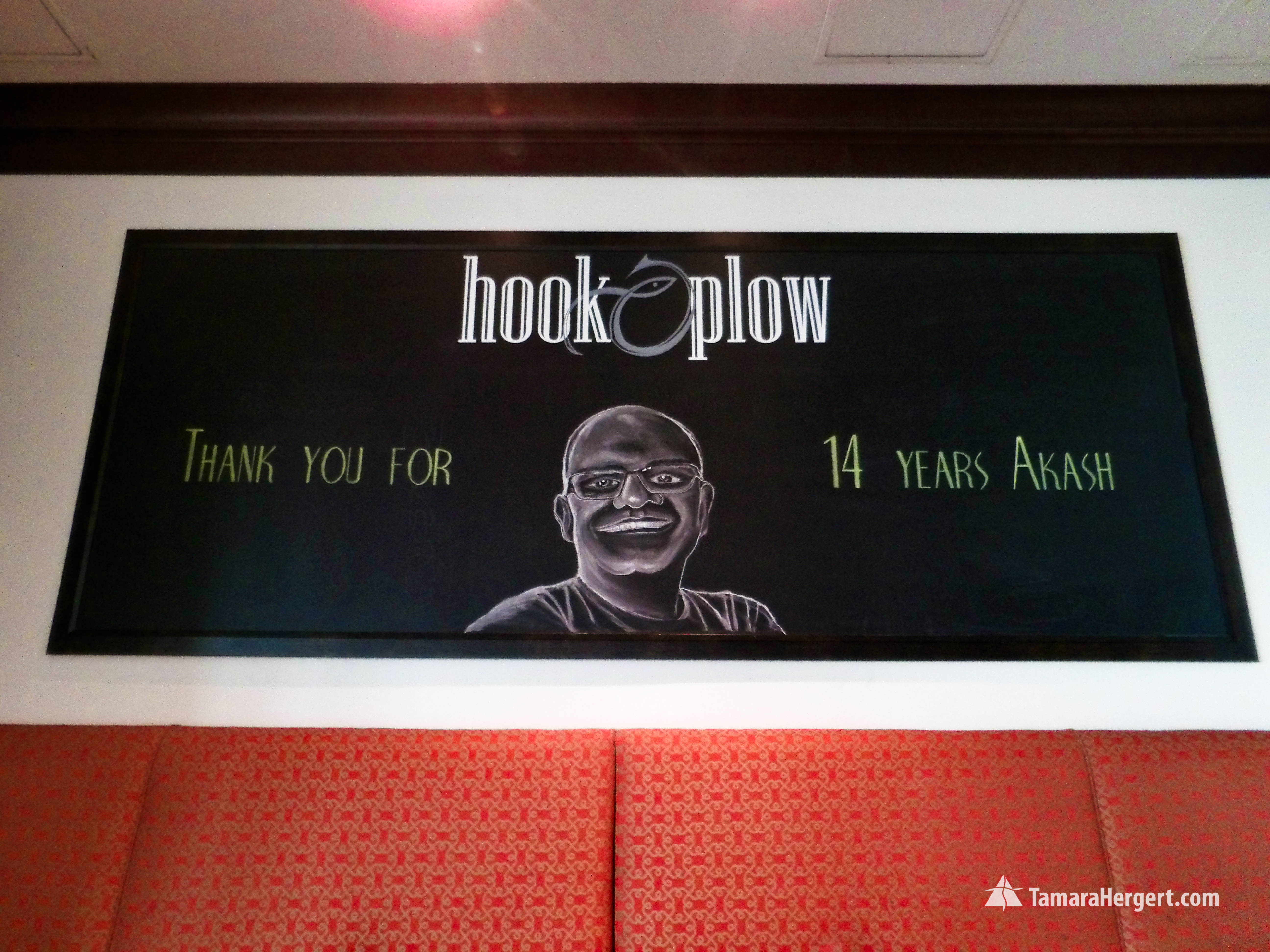 Chalk art for Amazon private party by Ta